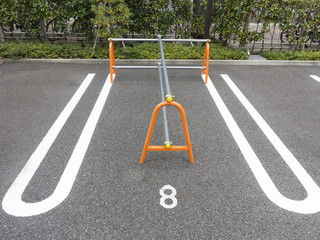使用禁止の駐車場