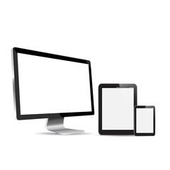 LED  Monitor  against white background.