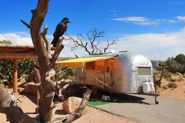USA - Caravane vintage