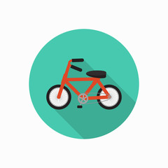 bike icon illustration