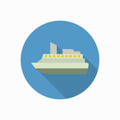 cruise icon illustration