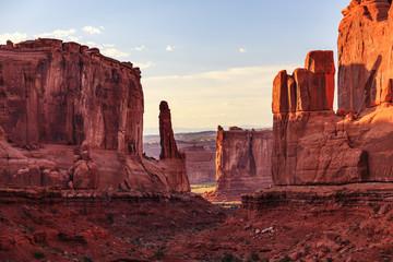 Park Avenue Section Arches National Park Moab Utah