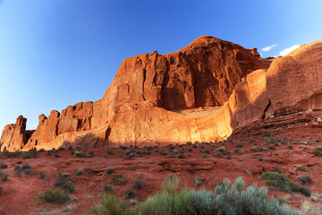 Park Avenue Section Arches National Park Moab Utah