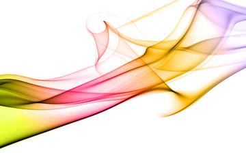 colored abstract smoke