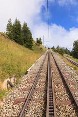 Cogwheel railways on Mt. Rigi