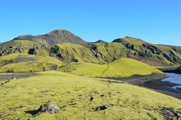 Горные пейзажи Исландии