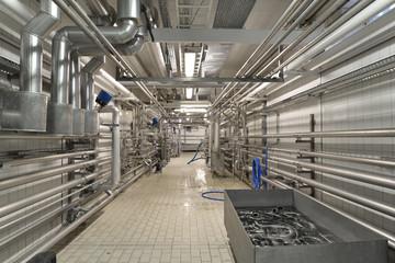 pipeline refinery // Rohrleitungssystem in Brauerei