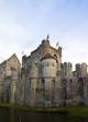 Gravensteen castle. Ghent, East Flanders, Belgium
