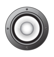 audio speaker vector illustration