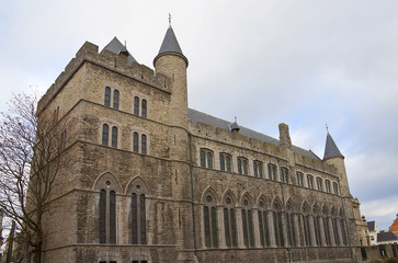 Castle of Gerald the Devil. Ghent, Belgium