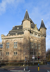 Quarters Leopoldskazerne. Ghent, East Flanders, Belgium