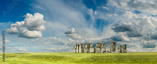 Leinwanddruck Bild Stonehenge