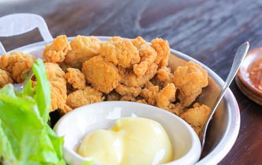 Chicken fry pop