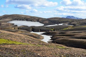 Исландия, горный пейзаж