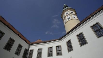 Mikulov castle tower UNESCO
