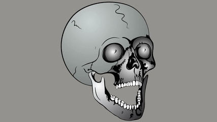 collapsible skull
