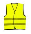 Leinwandbild Motiv driver safety vest