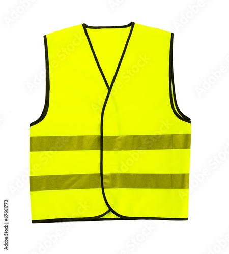 canvas print picture driver safety vest