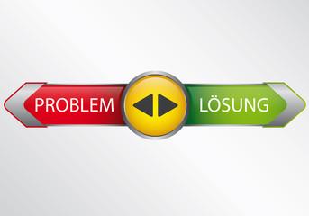 Problem Lösung - Infografik