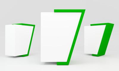 green blank lightbox
