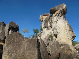 felsformationen im outback