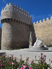 Monmento a Santa Teresa en Ávila