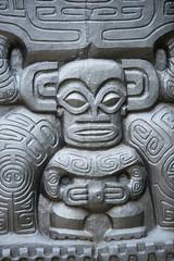 polynesian stone statue
