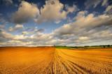 Krajobraz wiejski, po zniwach