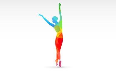 corpo, colori, fantasia, danza, ballerina