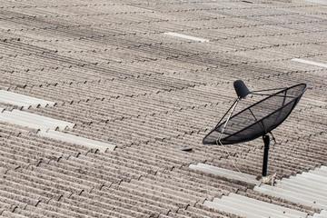 Satellite roofing