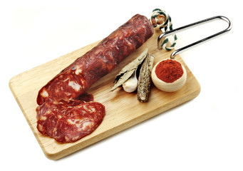 iberian red sausage