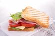 canvas print picture - sandwich