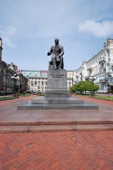 Monument compositeur N.V. Lysenko/ Lisenko. Kiev.
