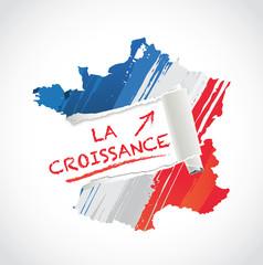 La croissance en France