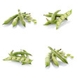 Set of green beans