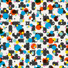 abstract polka dots background,vector illustration