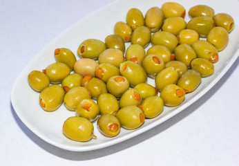 Orange Stuffed olives 1