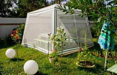 шатер садовый