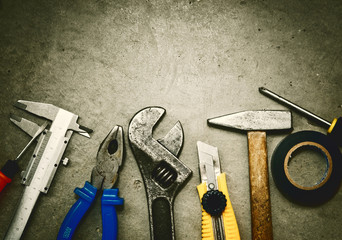 Tools background