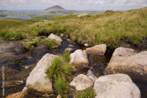 Connemara national park scenery