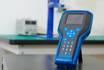 Electrical measuring device in laboratory