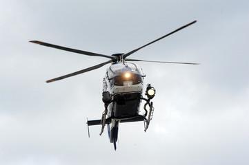 hélicoptère gign