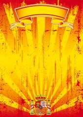 retro spanish sunbeams letter