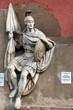 Постер, плакат: Горельеф Воин Георгий Храм Христа Спасителя