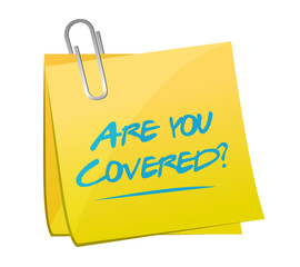 are you covered memo illustration design