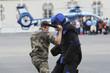 Leinwanddruck Bild - gendarme