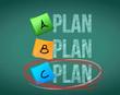 plan c selection illustration design