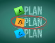 plan b selection illustration design