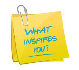 what inspires you question illustration