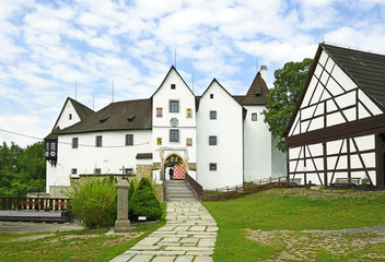 Seeberg Castle in the Ostroh village, Bohemia, Czech Republic